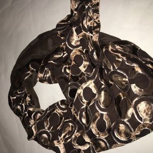 Coach oblong scarf